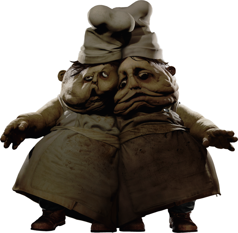 The Twin Chefs from Little Nightmares