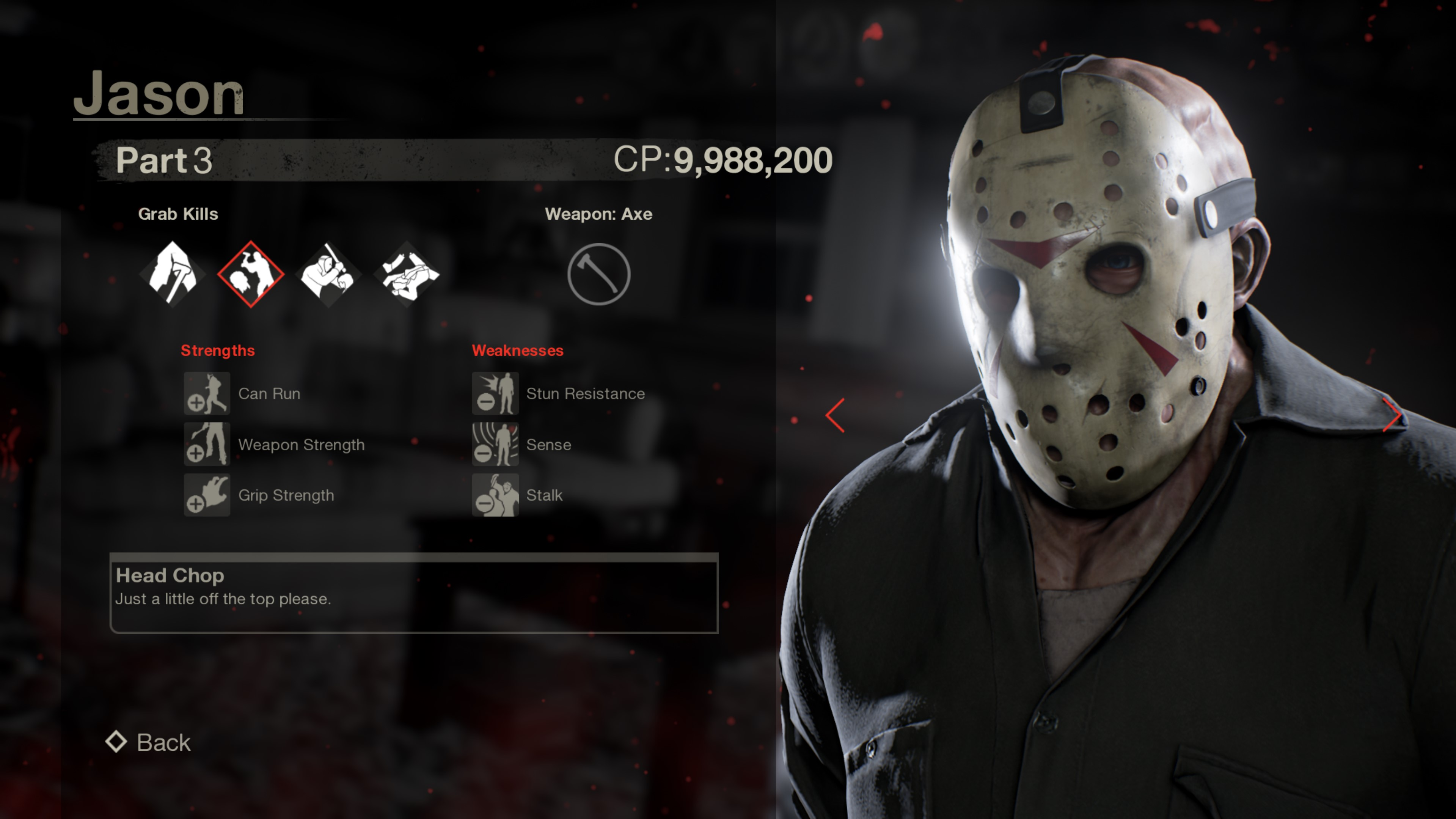 Jason from Friday the 13th part 3