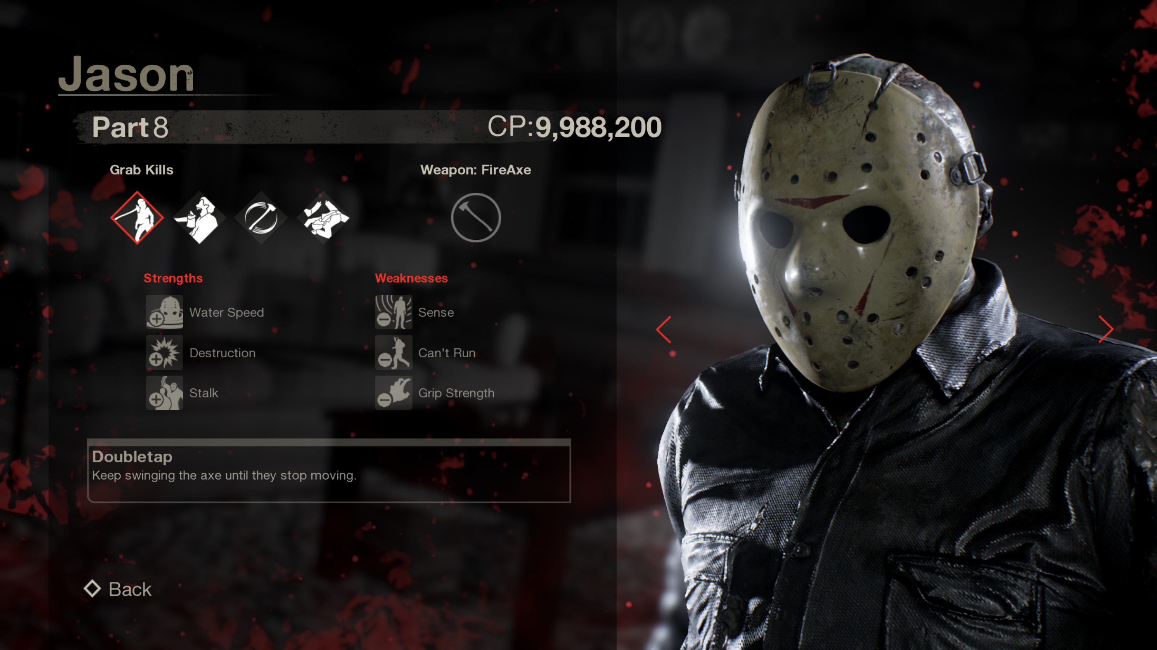 Jason from Friday the 13th part 8
