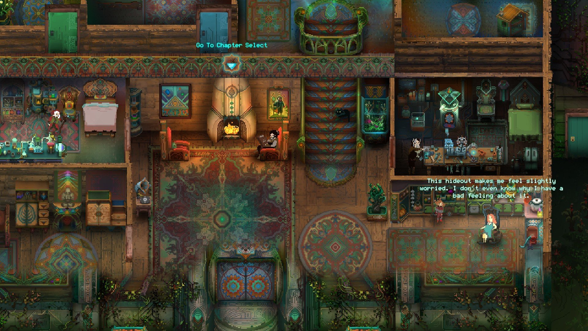 One of the first things you'll notice about Children of Morta is its gorgeous pixel art.