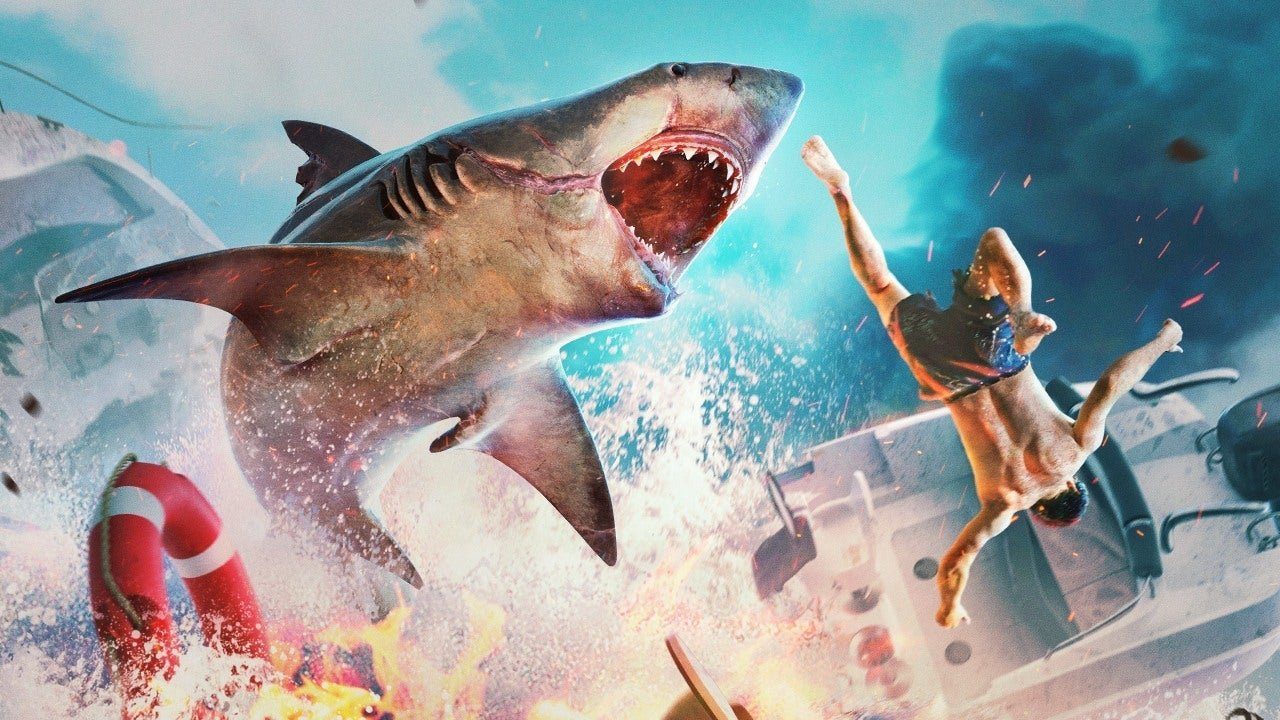 Maneater is like GTA... but with sharks.