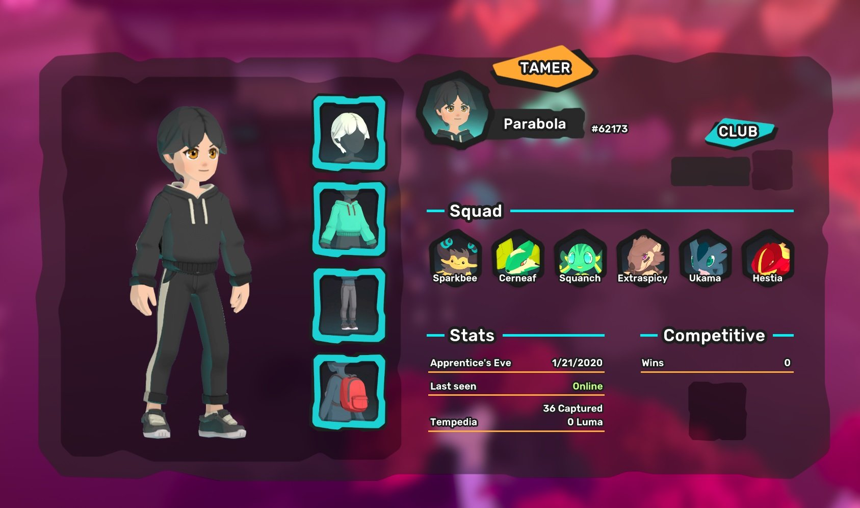Add me as a friend in Temtem and let's train together... or battle!