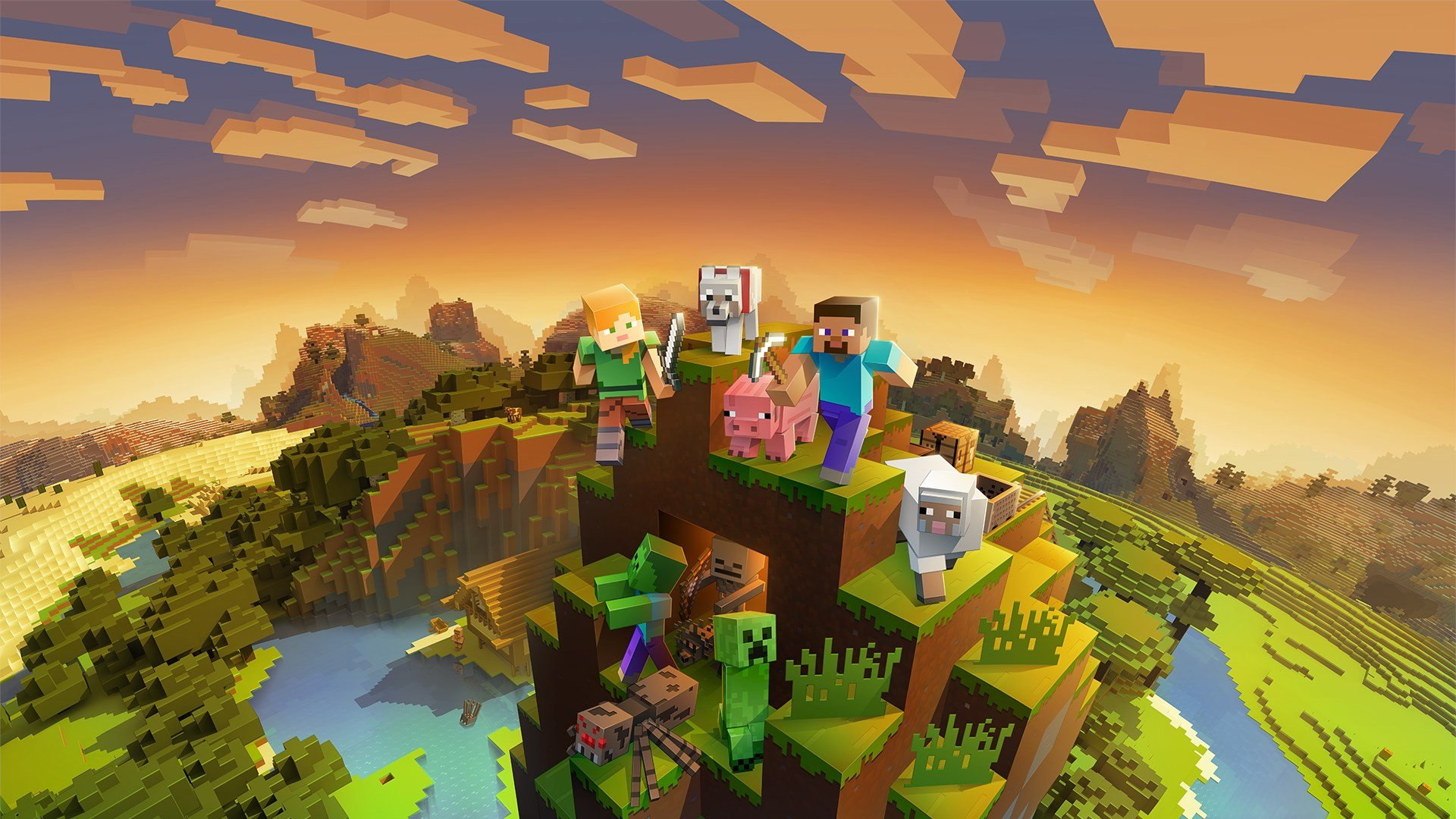 Minecraft is one of the most popular indie games of all time and universally loved by kids of all ages.