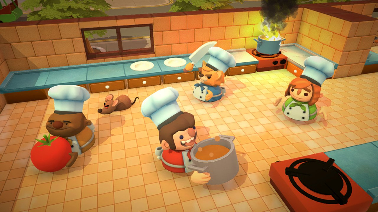 Whip up meals and try to avoid chaos in the kitchen in Overcooked!
