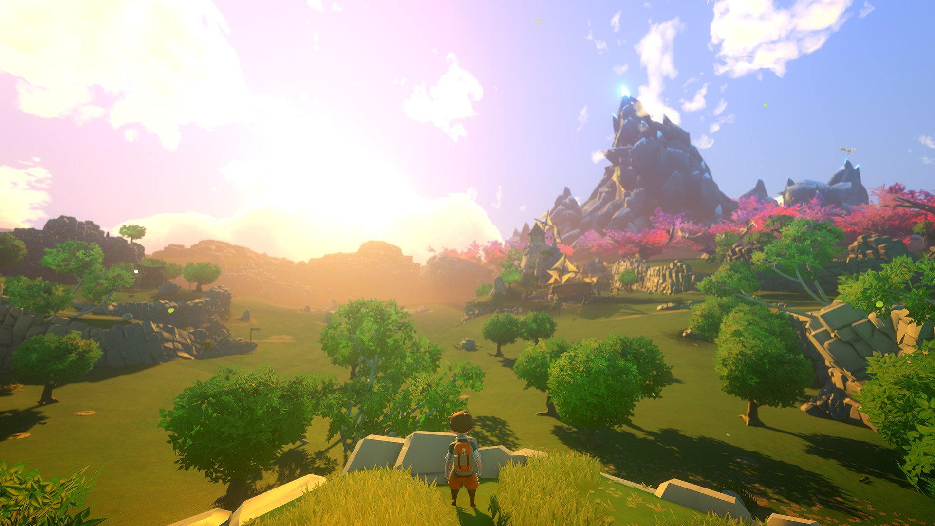 Yonder: The Cloud Catcher Chronicles is an adventure game that's completely free of combat.
